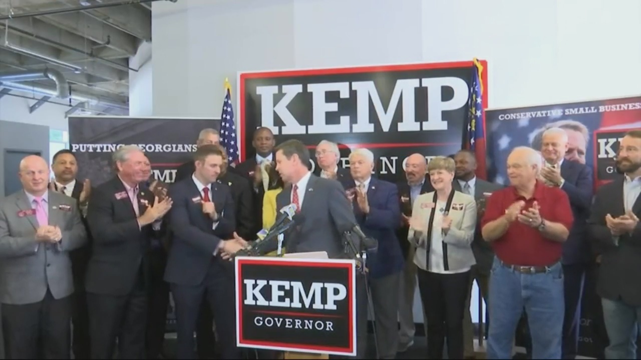 Republican candidate for Georgia Governor unveils plan for veterans