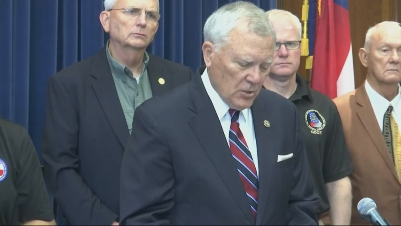 Georgia Gov. Deal holds press conference in wake of tropical storm Michael damage 1