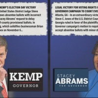 Both sides claim victory in Governors race lawsuit rulings