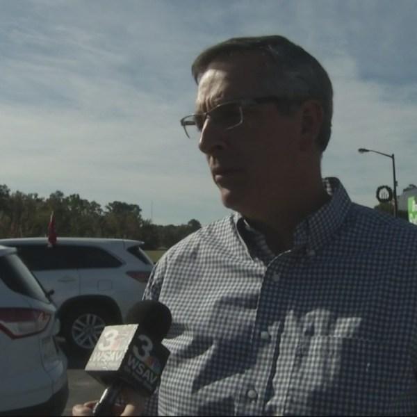 Candidate Raffensperger speaks on Secretary of State runoff