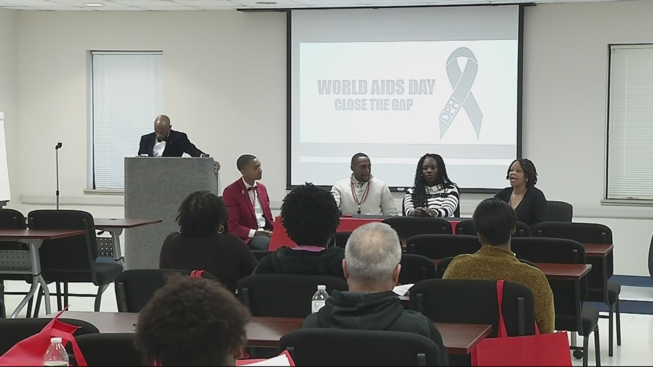 Local health department shines light on HIV & AIDS