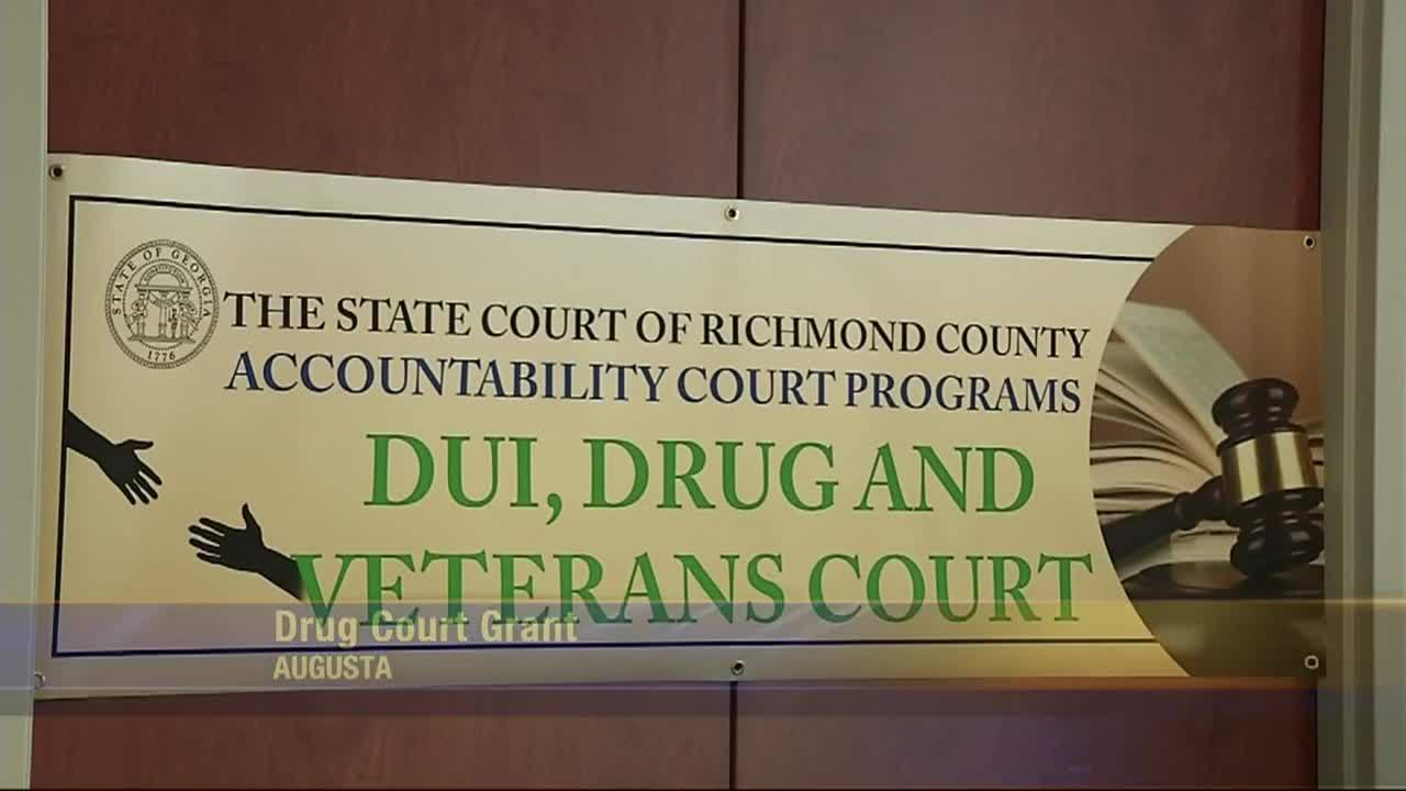 Drug court grant helping to rehabilitate people.
