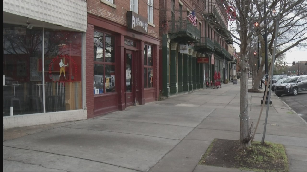 Downtown Augusta still a destination for some after shooting.