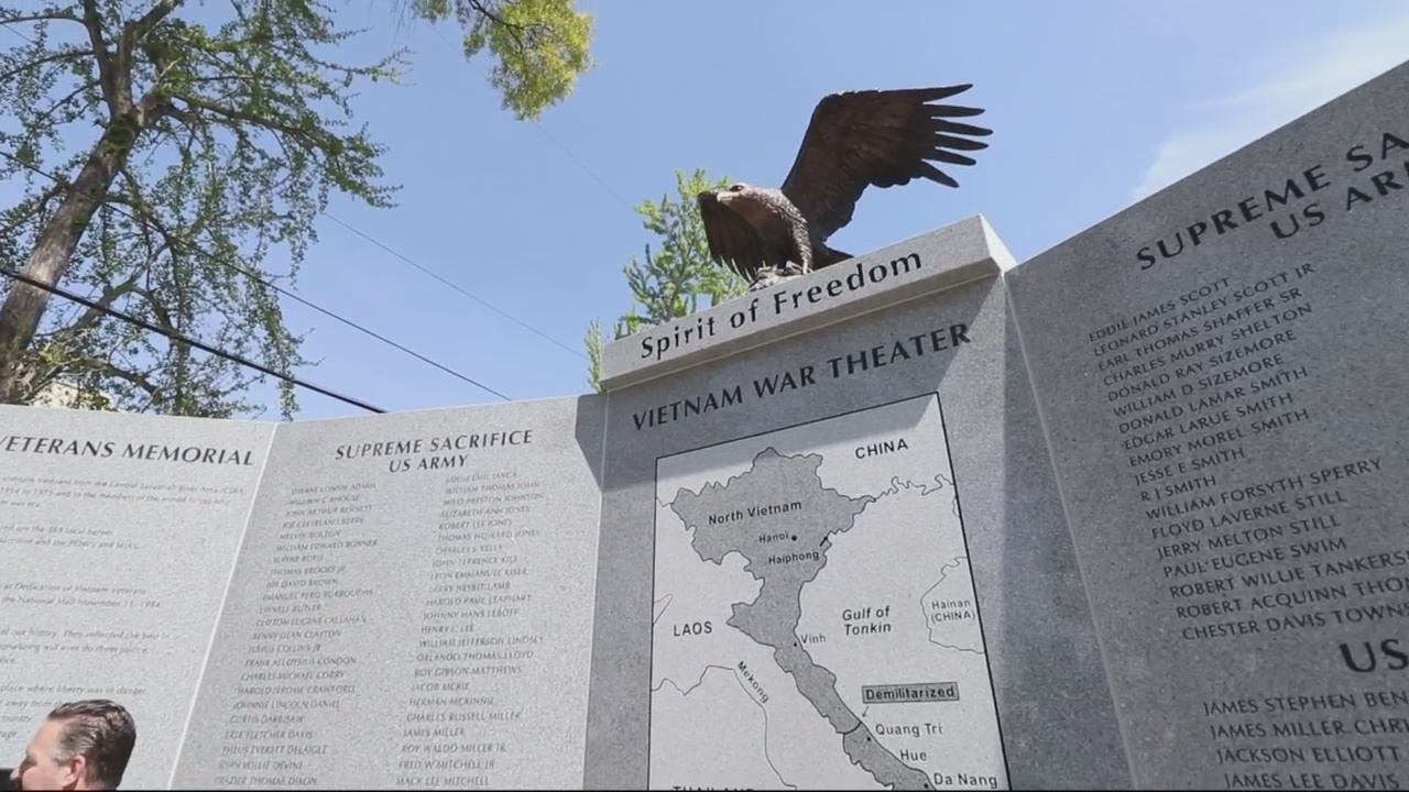 Vietnam War Veterans Memorial unveiled in Augusta