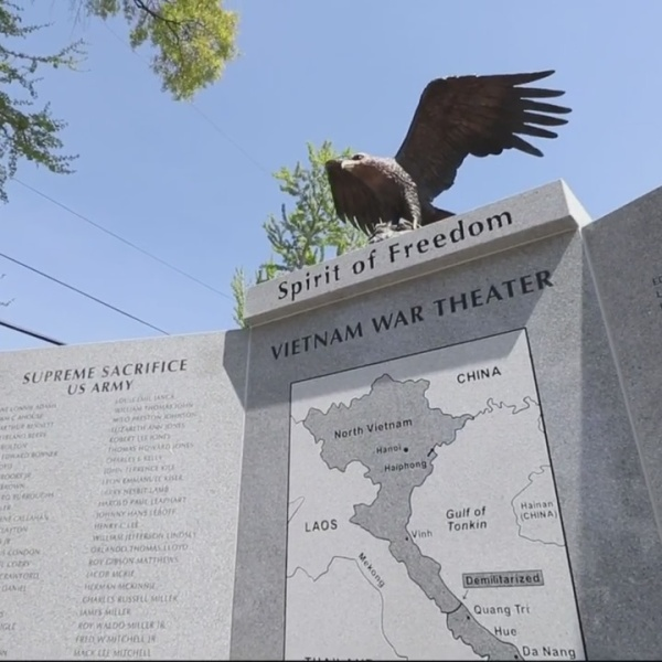 Vietnam War Veterans Memorial unveiled in Augusta