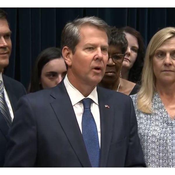 Georgia Gov. Brian Kemp signs early abortion ban