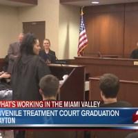 Juvenile treatment court graduation
