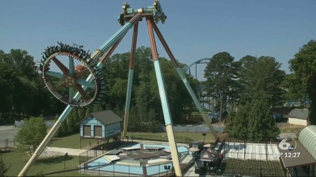 Six Flags Over Georgia now open and adds a big, brand-new ride