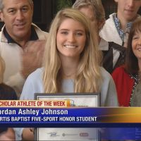 WJBF Scholar Athlete: Curtis Baptist's Jordan Ashley Johnson