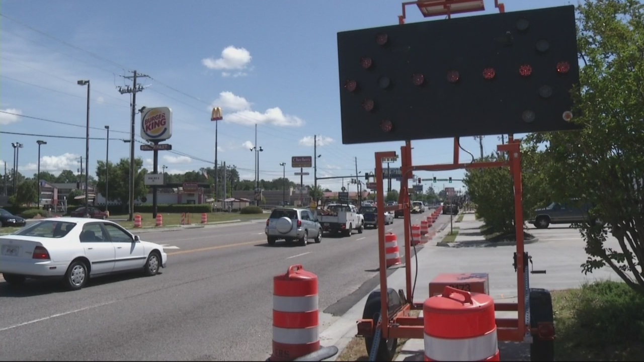 Wrightsboro Road construction part of larger project.