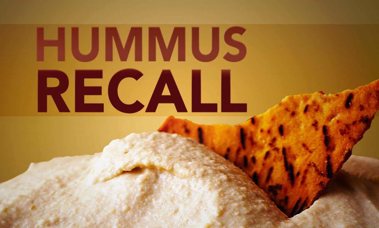 hummus recalled due to listeria concerns  wjbf