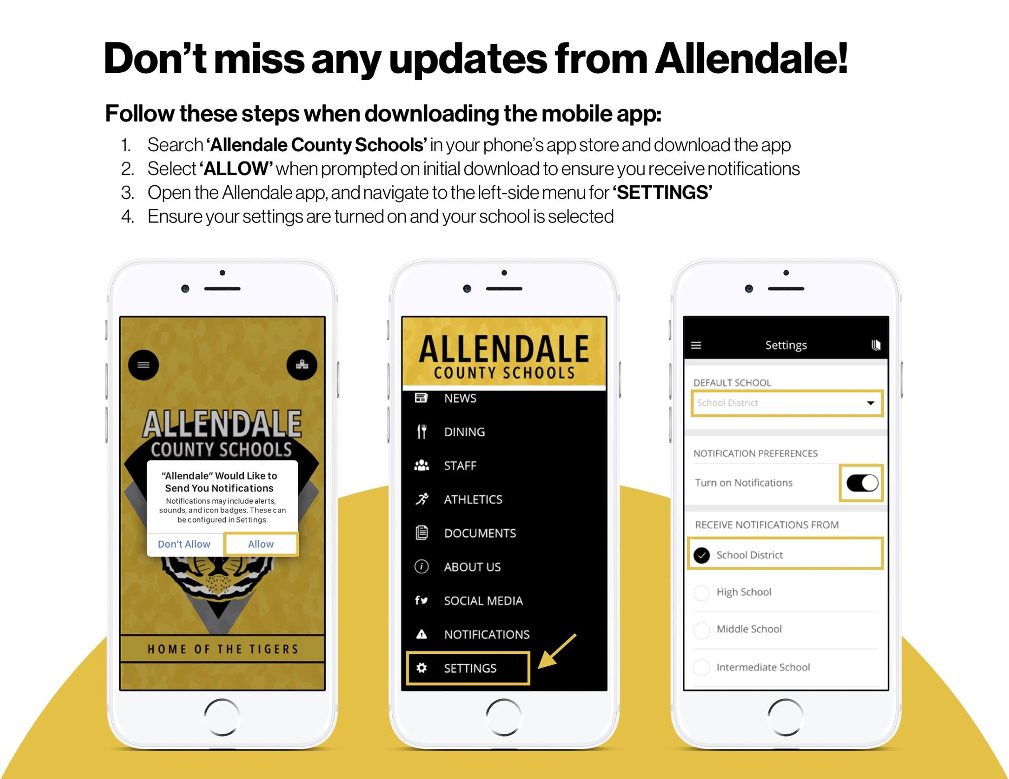 Allendale County School District launches new app