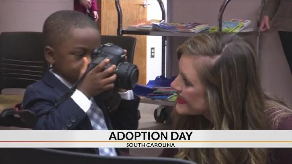 Blaine - Adoption Day in South Carolina!