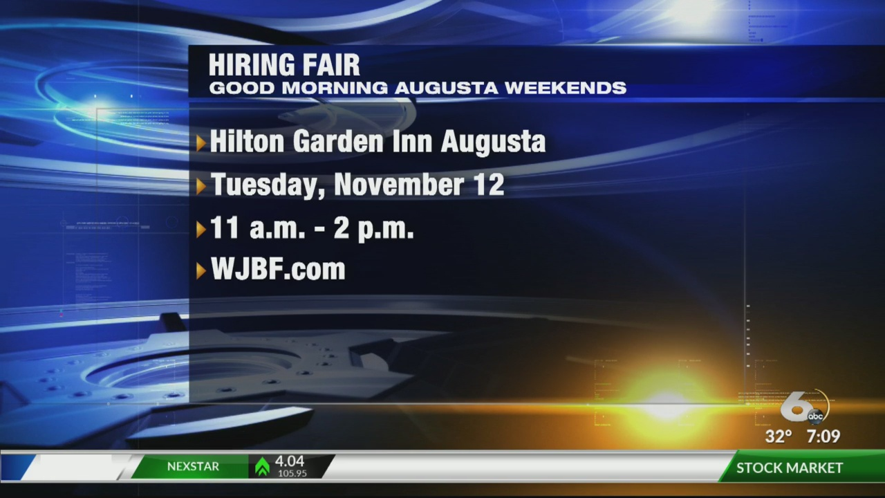 Hiring Fair In Augusta Hopes To Help You Find Your Next