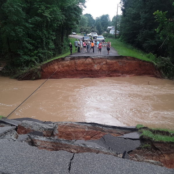 Mill Creek Drive Collapse