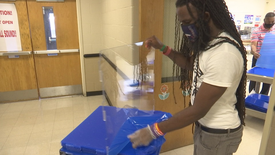 Plexiglass in classrooms ready as Allendale County students prepare to return to classrooms